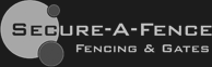 Secure a fence logo