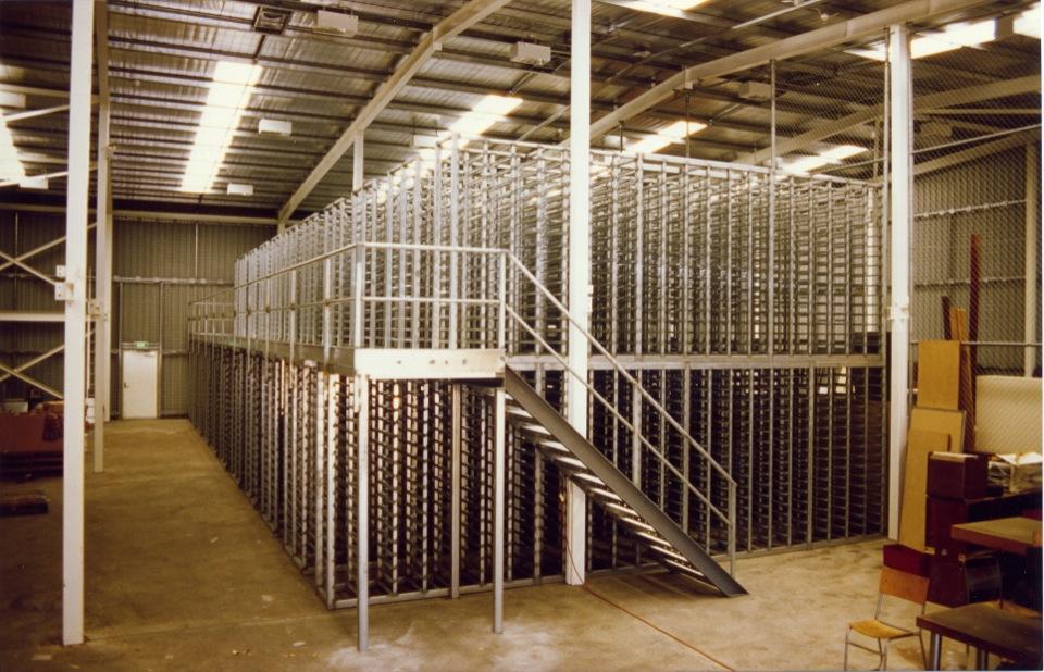 Mining Steel Core Trays Racking Systems Wa Steel