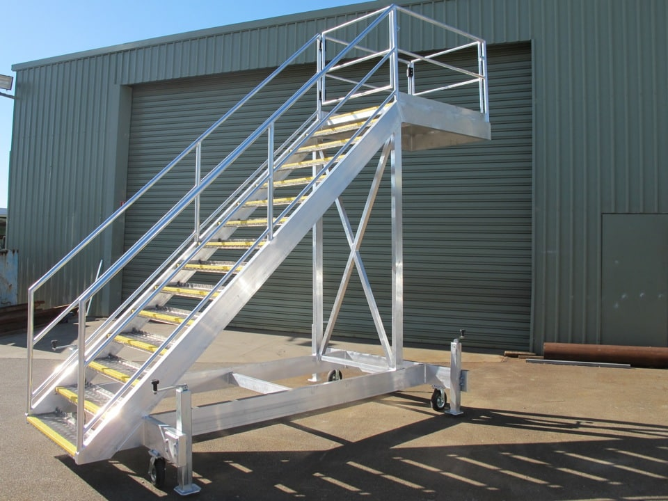 Metal Staircases Steel And Aluminium Work Platforms Wa