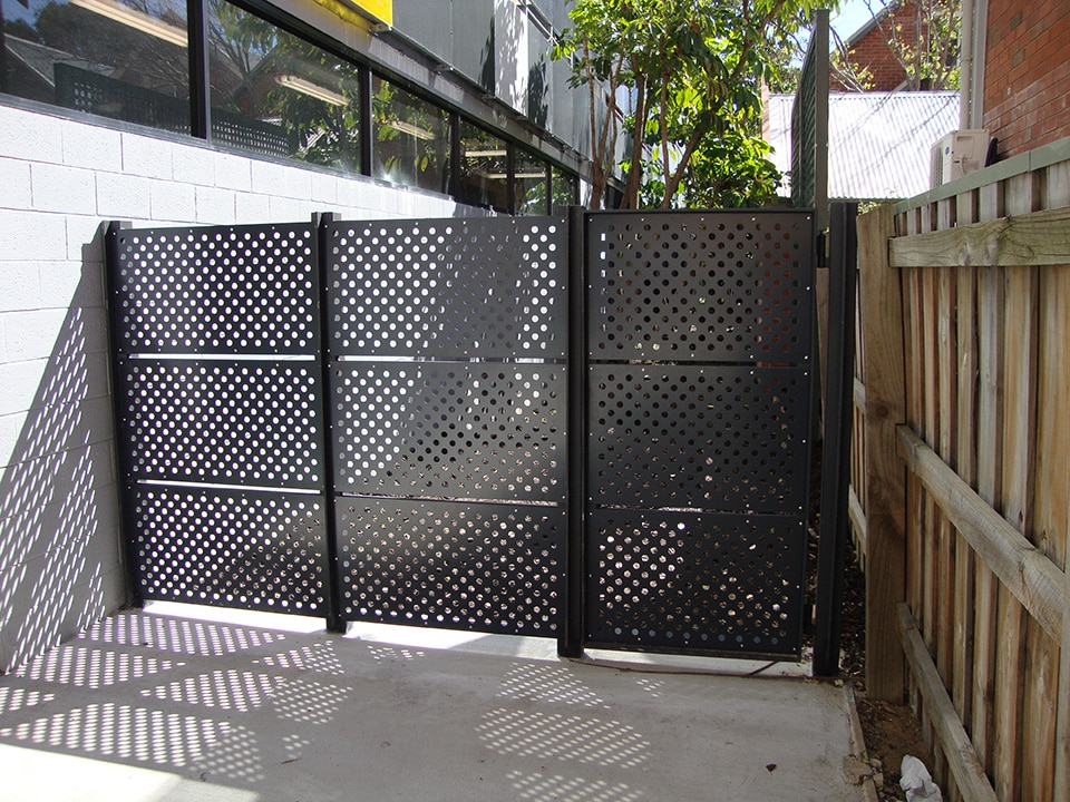 Modern Deck Lattice