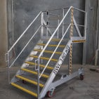 Trailer Tub Access Platform